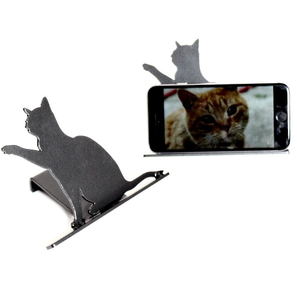 Cell Phone Stand (Cat) - Cell Phone Holder - Mobile Phone Stand - Mobile Phone Holder - Stand for Phone - Electronic Device