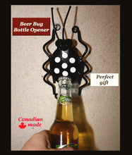 Bottle Opener For Walls: Metal Beer Bug Wall-mounted Bottle Openers