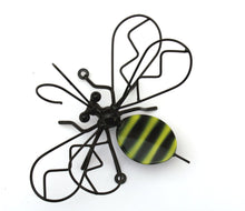 Decorative Metal Bumblebee For  Garden Decor, Wall mounted Metal Art Bee, Wrought Iron Bees/Bumblebees Wall Art Made By By Practical Art!
