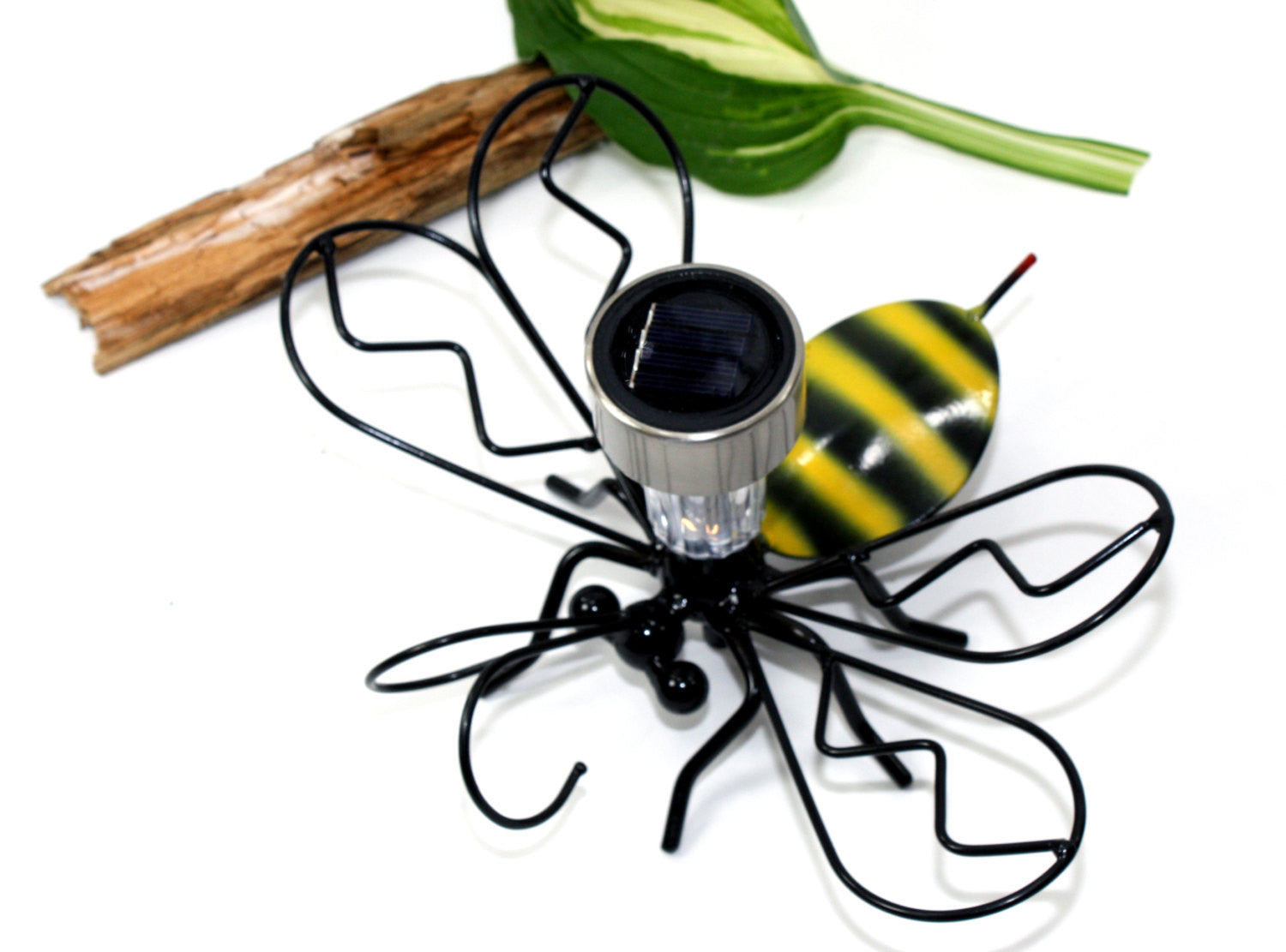 Bumble Bee Solar Light with Garden Stake for Garden Home Decor