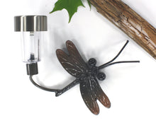 Home Decor Outdoor Decor! Solar Light + Metal Dragonfly: Birthday, Housewarming &/Or Housewarming Gift. Metal Wall Art By Practical Art!