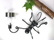 Metal Ant With Solar Light Wall Decor For Home & Office! Housewarming Gift For Him/Yard Art Garden Decoration For Her Made By Practical Art.