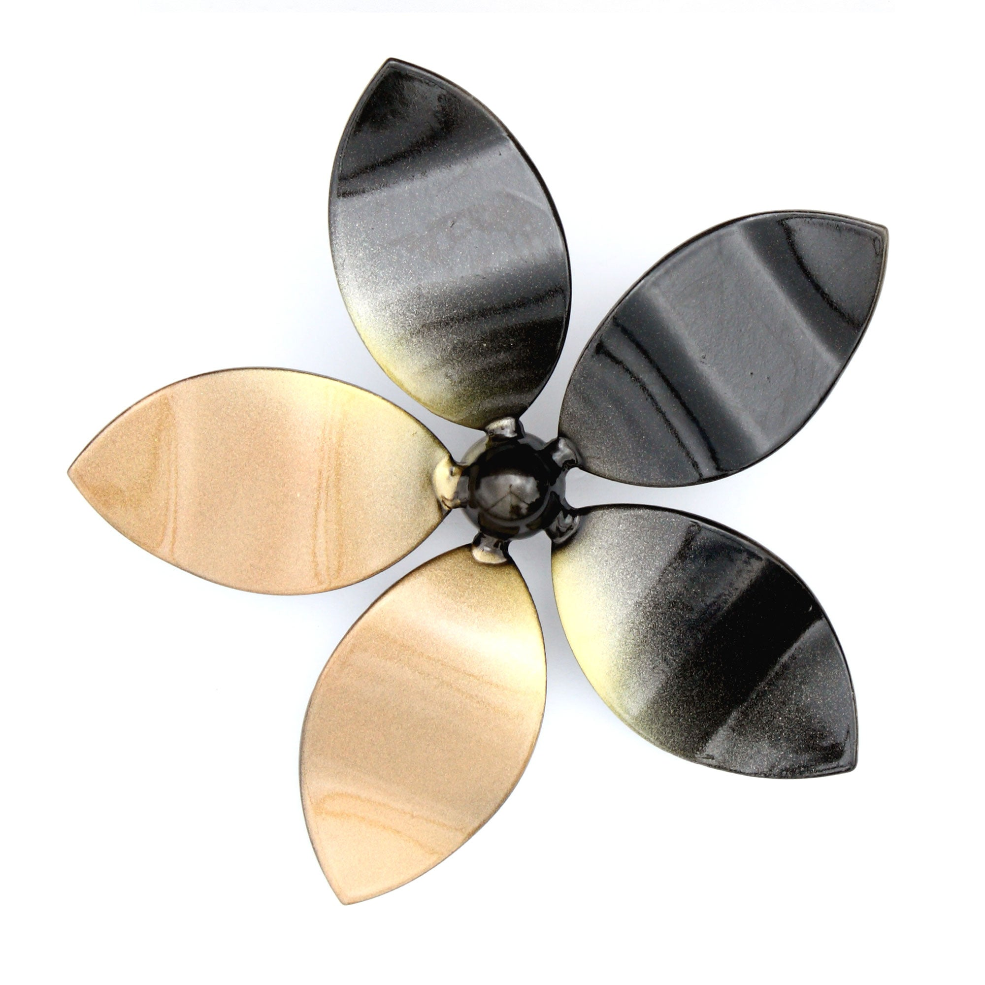 Home Decor - Extra Large Five Flower Vine - Metal Wall Art