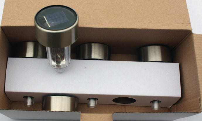 Set of 5 solar lights