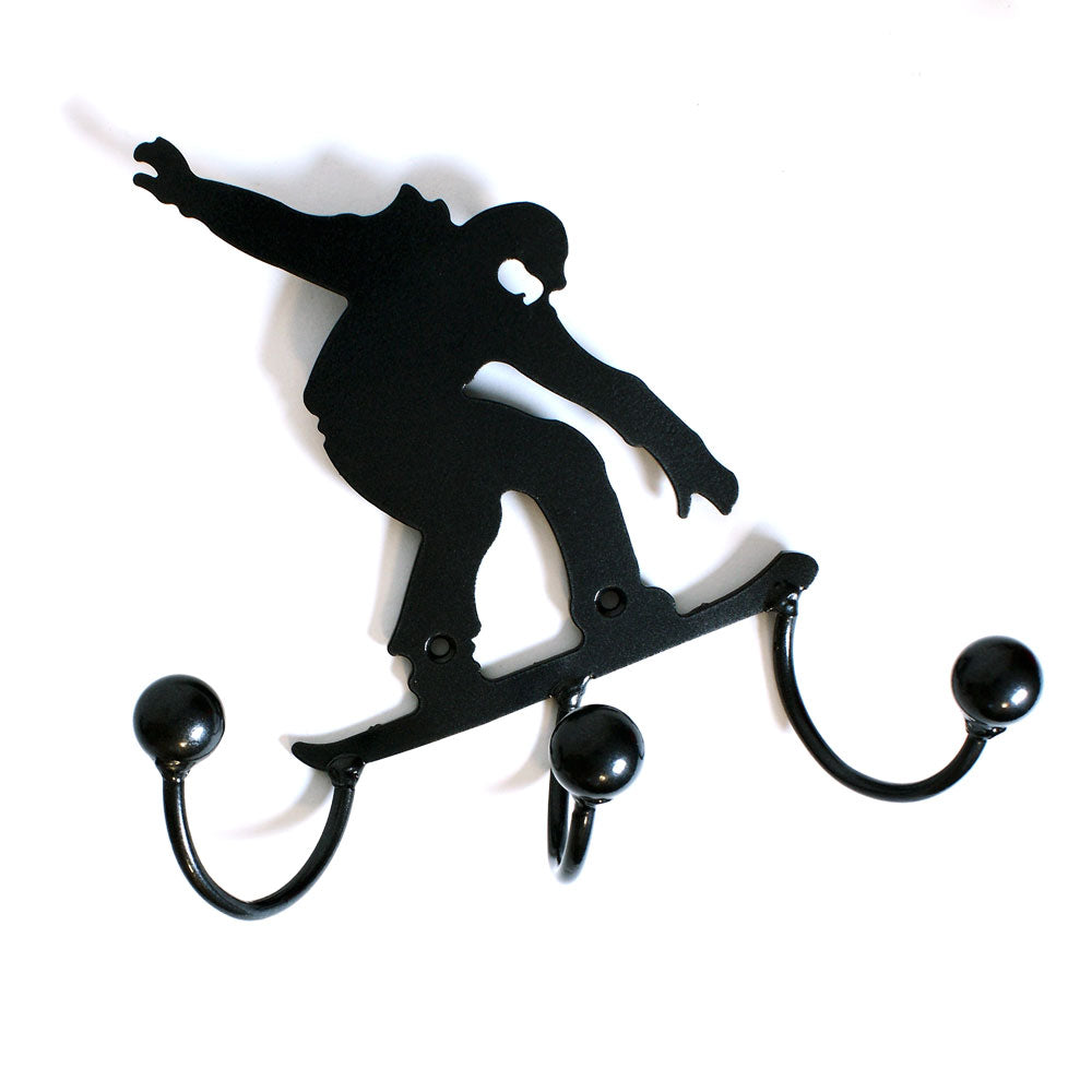 Snow boarder award hook