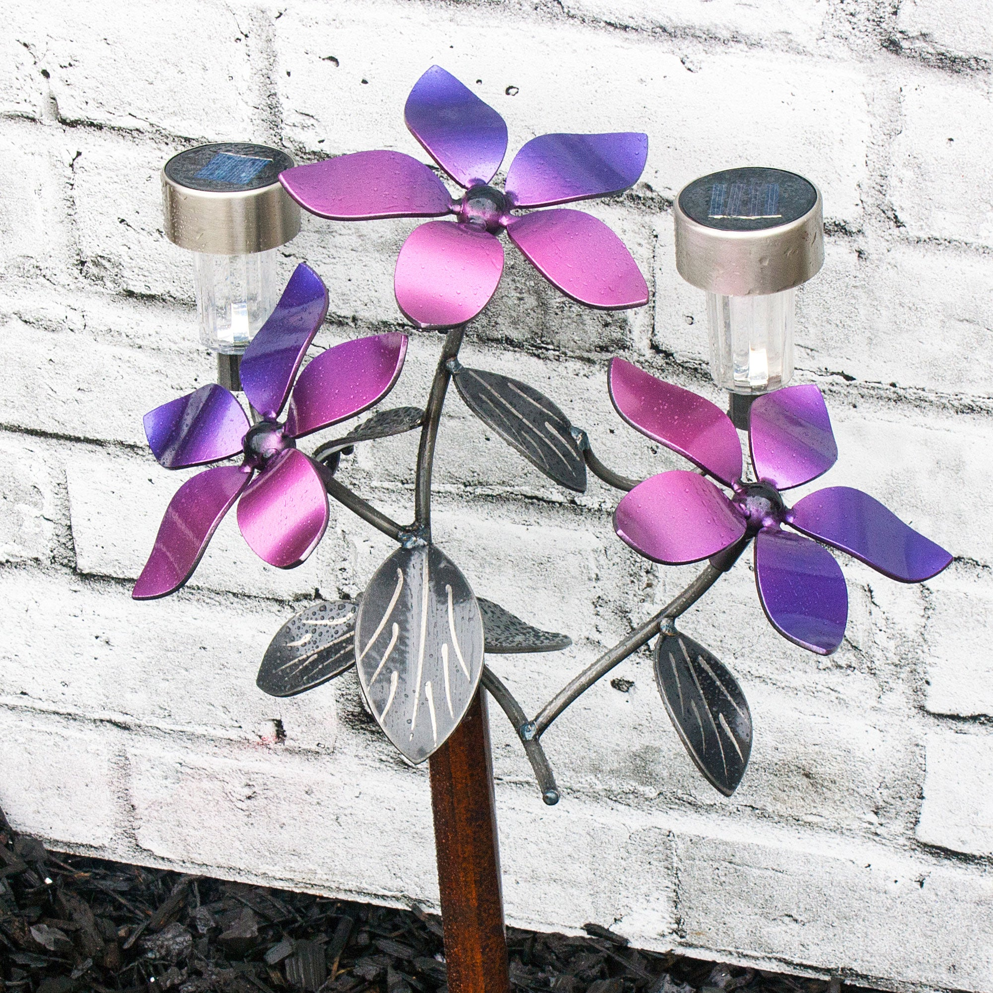 Metal Flower Garden Bouquet