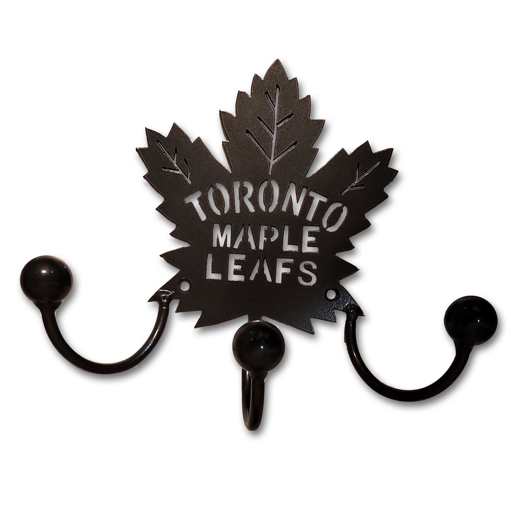 Toronto Maple Leaf Home Decor Award Displays Metal Hooks and Holders!