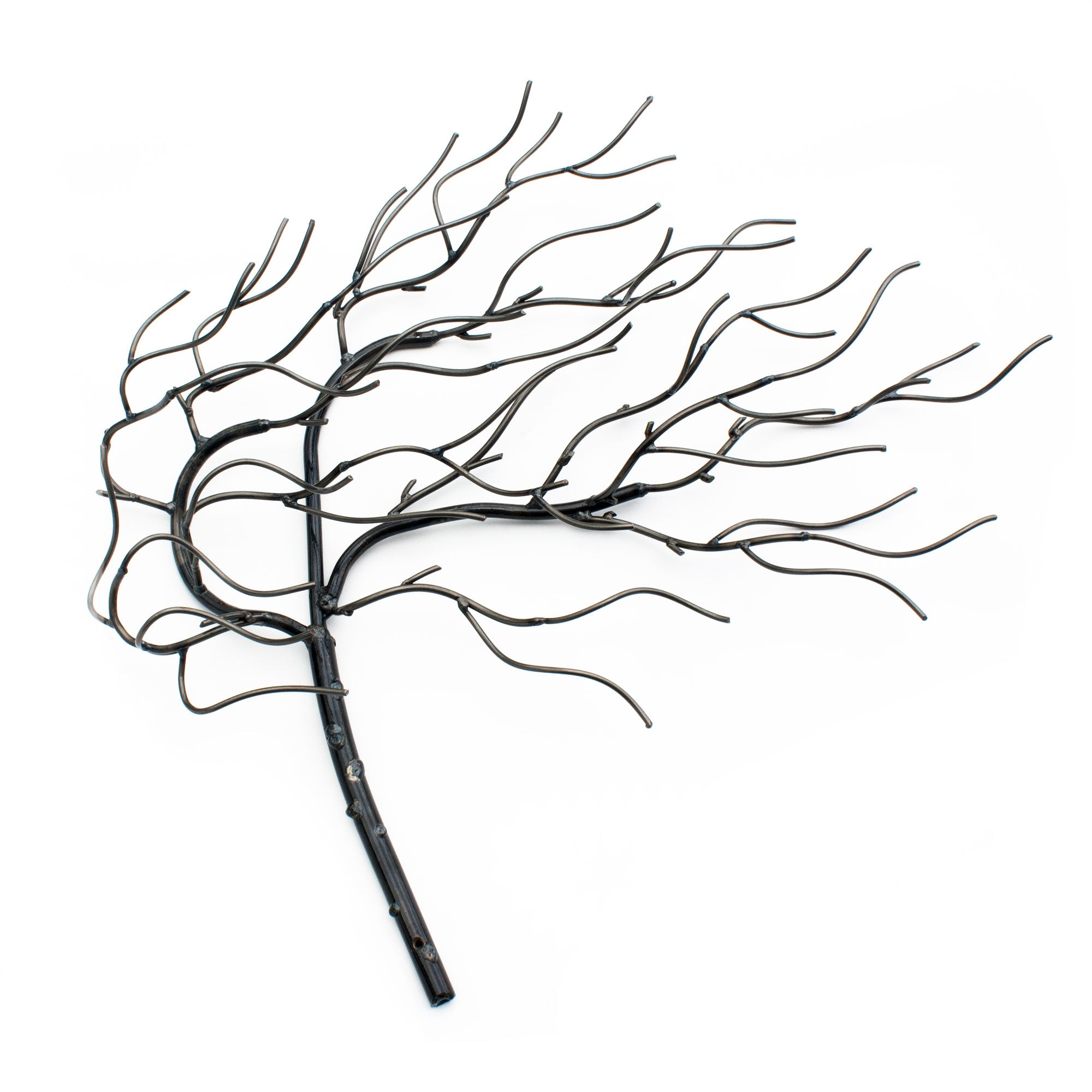 Wind Blowing Tree Metal Wall Art | Practical Art Home Decor