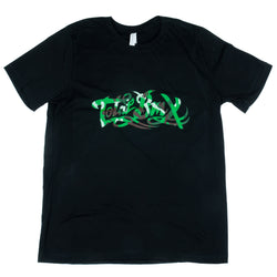 Total BMX Camo Logo T-shirt - Black