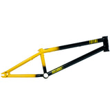 Total BMX Killabee K4 Frame - Black / Yellow