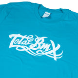 Total BMX Original Logo T-shirt - Blue