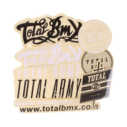 Total BMX Sticker Pack Mixed