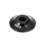 Total BMX Tech Front Hubguard - Black 10mm