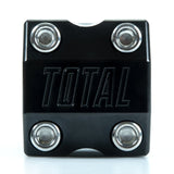 Total BMX Team V3 Front Load Stem - Black With Chrome Bolts 48mm Reach