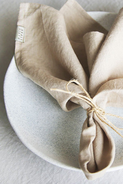 6 Easy Ways to Fold Linen Napkins