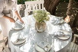 Round Linen Tablecloth in Various Colors | MagicLinen