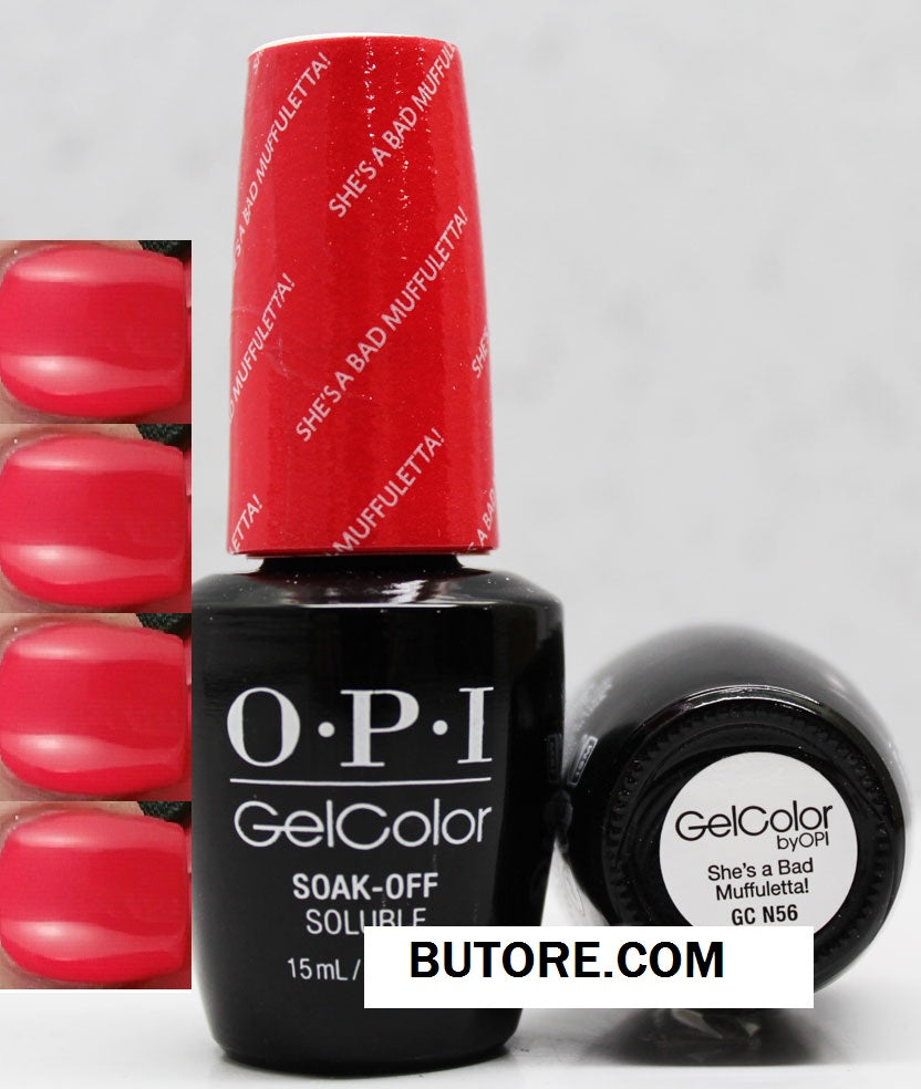 OPI She's a Bad Muffulett! Gel
