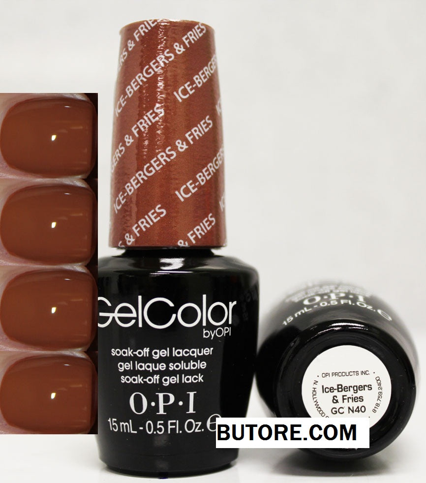 OPI Ice-Bergers Fries Gel