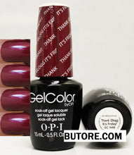 OPI Thank Glogg It's Friday! Gel