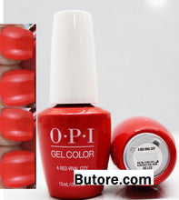 OPI A Red-Vival City Gel