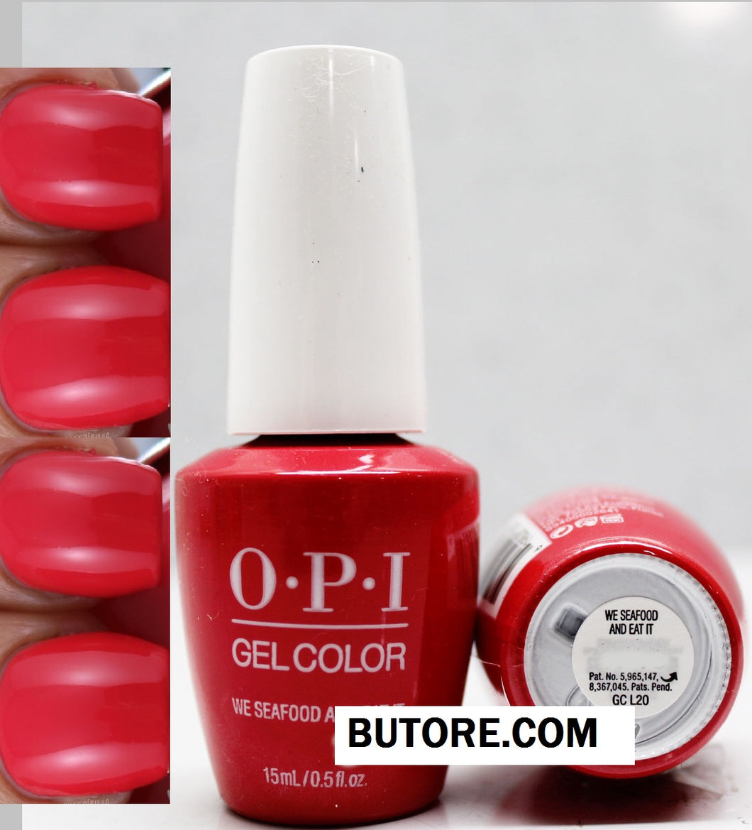 OPI We Seafood and Eat It Gel