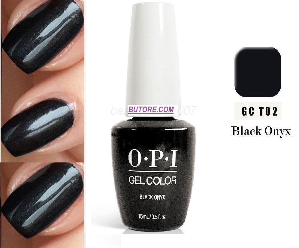 OPI GEL BLACK ONYX