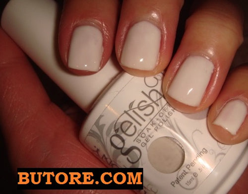 GELISH SLEEK WHITE