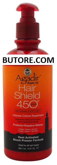 Argan Oil Hair Shield 450 Intense Creme for Unisex - 10 oz