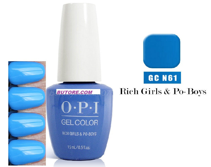 opi rich girls and po boys GEL