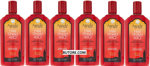 Argan Oil Hair Shield 450 Deep Fortifying Unisex Conditioner 12.4 oz 6pk