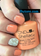 CND Shells In The Sand Gel .25 oz