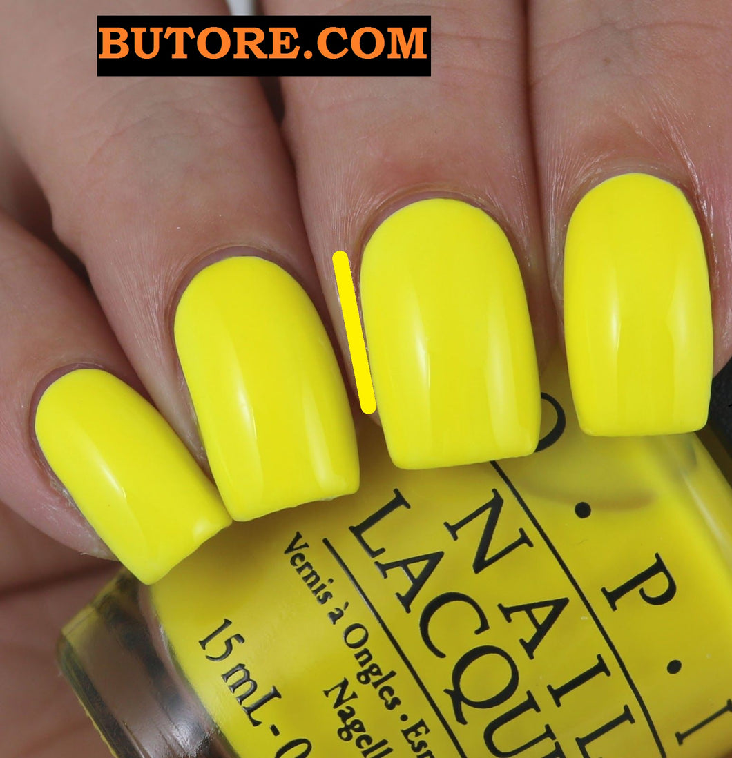OPI   NO FOUX YELLOW