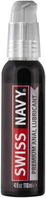 Swiss Navy Premium Silicone Anal Lubricant, 4 oz