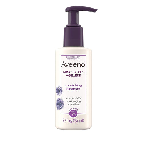 Aveeno Absolutely Ageless Nourishing Daily Facial Cleanser  5.2oz