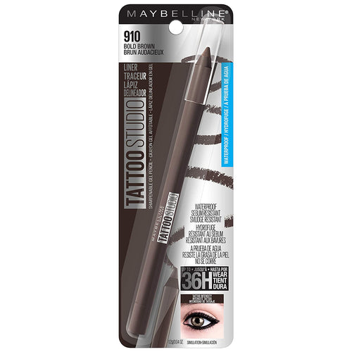 Maybelline New York Tattoostudio Waterproof, Long Wearing, Eyeliner Pencil