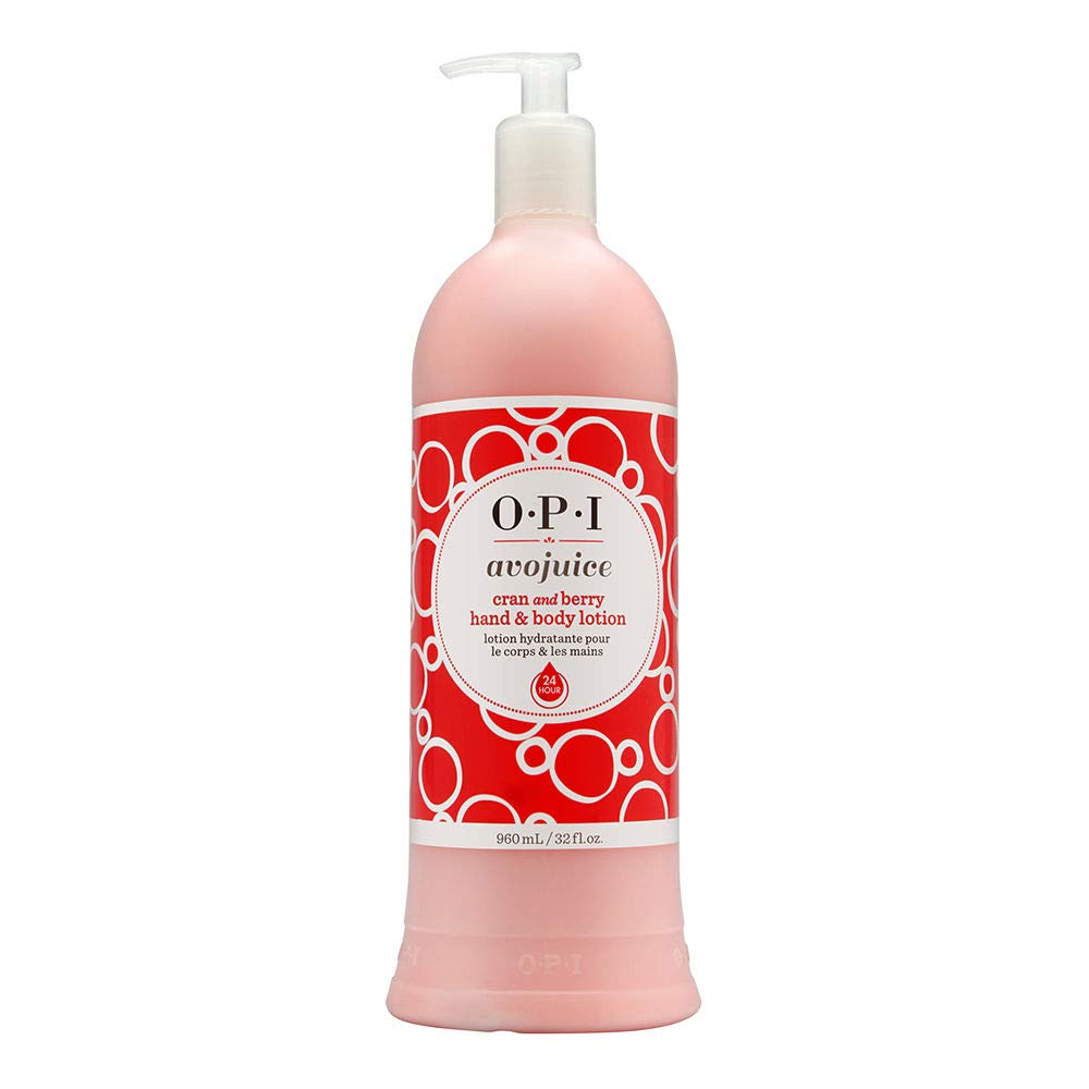 OPI Avojuice Cran and Berry Cranberry Hand & Body Lotion 32 fl oz