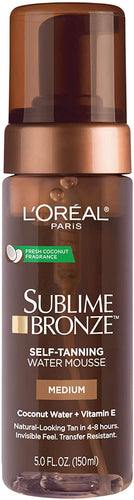 L'Oreal Paris, Sublime Bronze Hydrating Self-Tanning Water Mousse 5oz
