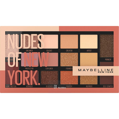 Maybelline Nudes Of New York Eyeshadow Palette