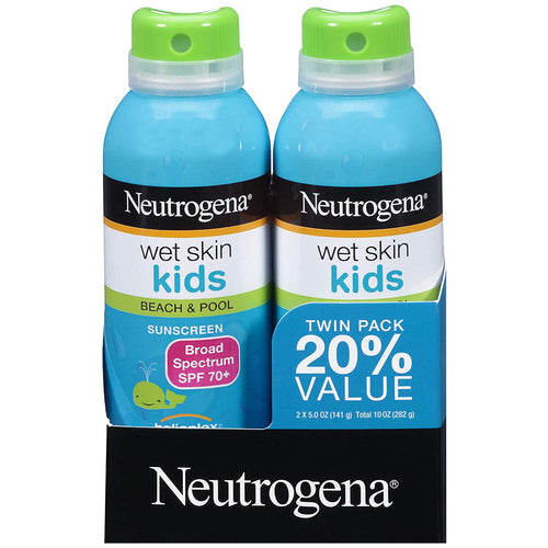 Neutrogena Wet Skin Kids Twin pack SPF 70 5 oz