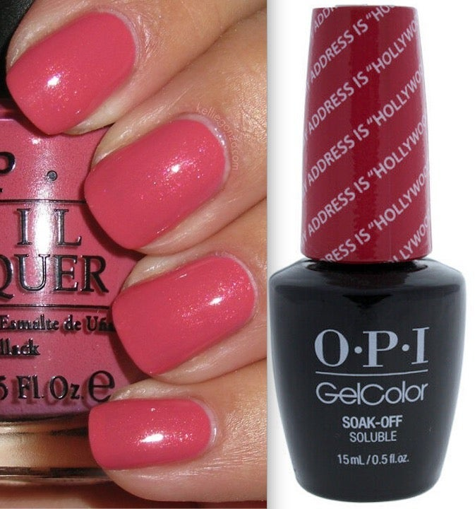 OPI Gel My Address Is Hollywood