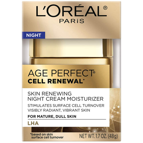 L'Oreal Paris Age Perfect Cell Renewal Skin Renewing Night Cream 1.7 oz