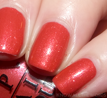 OPI Go with the Lava Flow gel