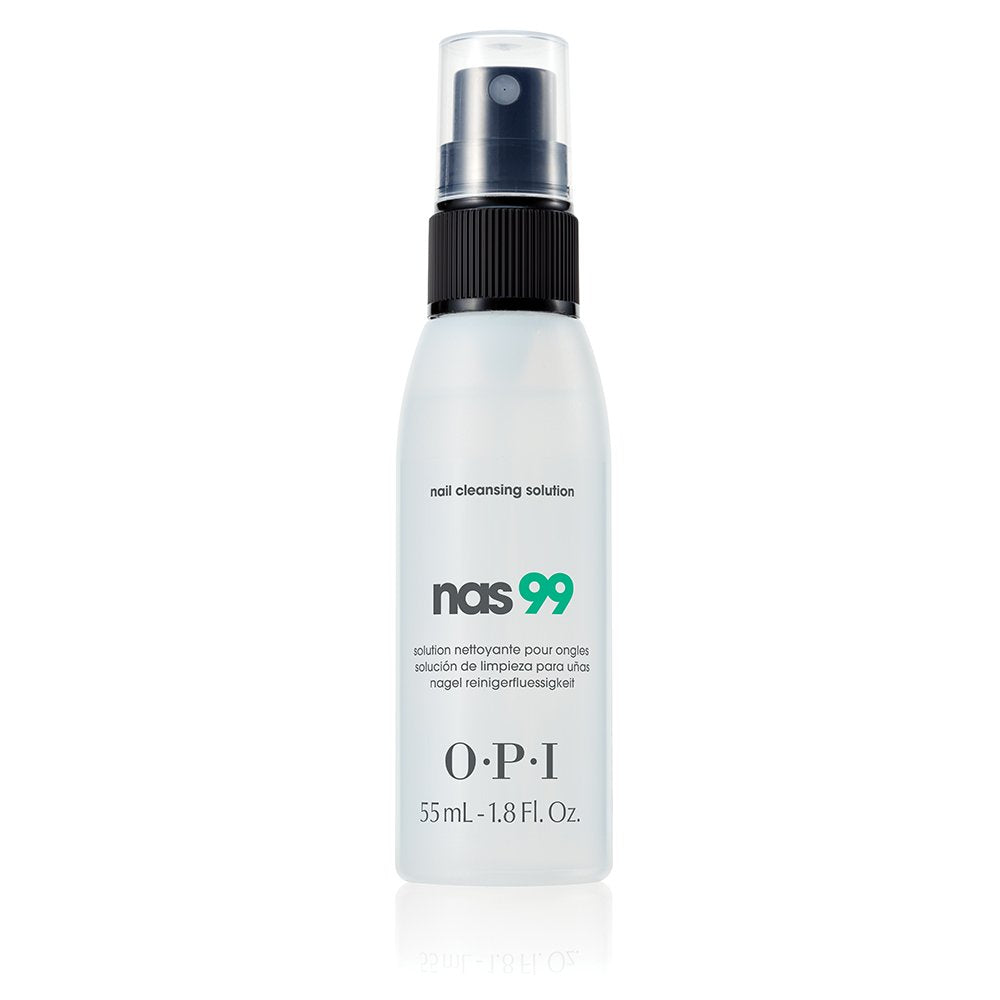 OPI N-A-S '99' Nail Cleansing Solution, 2 Fl Oz (2 Pack)