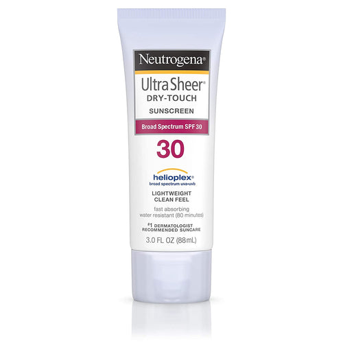 Neutrogena Ultra Sheer Dry-touch Sunscreen, SPF 30, 3 Fl Oz