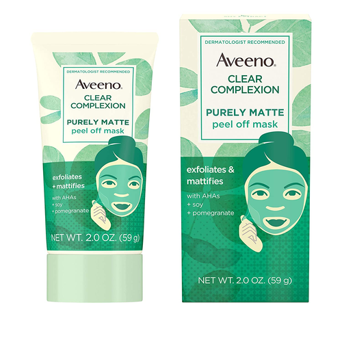 Aveeno Clear Complexion Pure Matte Peel Off Face Mask 2oz