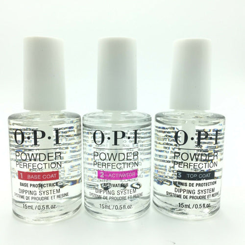 OPI Powder Perfection - 3 Step Dipping System 0.5 Fl oz Each