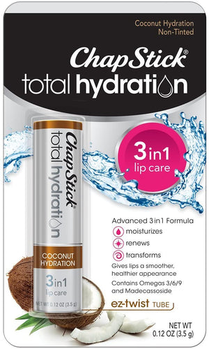 ChapStick Total Hydration (Coconut Hydration Flavor, 0.12 Ounce)