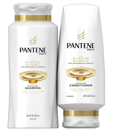 Pantene Moisturizing Shampoo 25.4oz and Conditioner 24oz