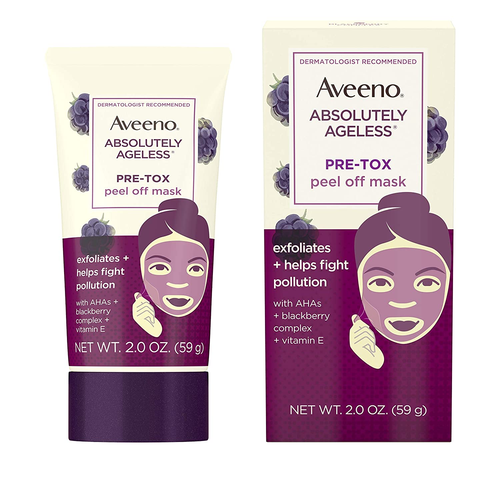 Aveeno Absolutely Ageless Pre-Tox Peel Off Antioxidant Face Mask 2oz