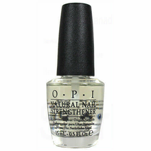 OPI Natural Nail Strengthener, Nail Polish Treatment, 0.5oz